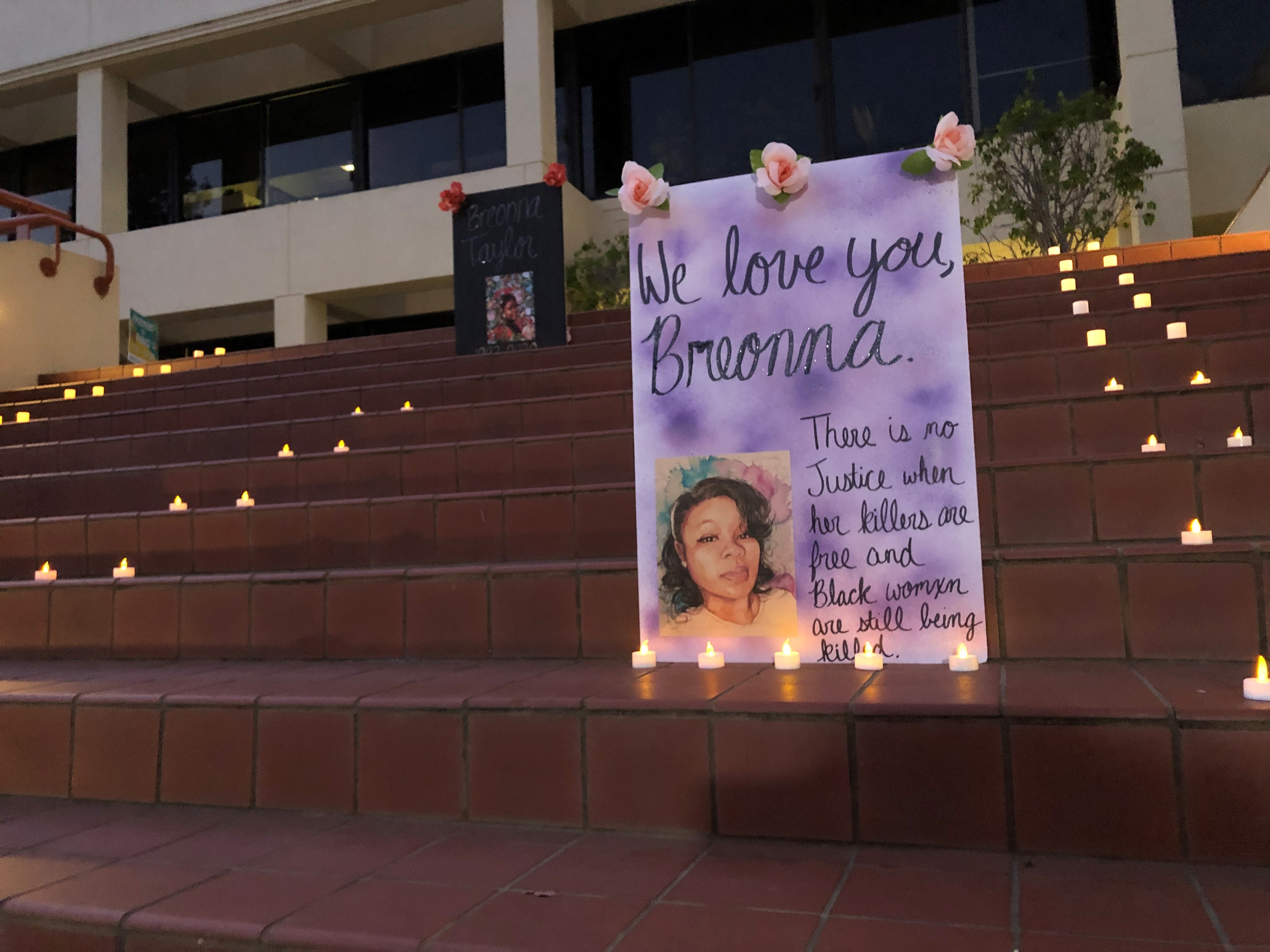 Vigil hosted in downtown San Luis Obispo for Breonna Taylor