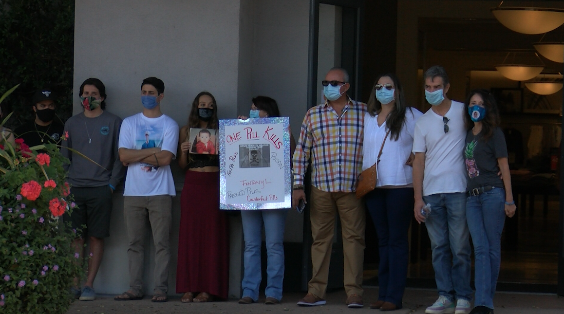 """Atascadero families speak out against fentanyl-related deaths with """"An Empty Chair"""" campaign"""