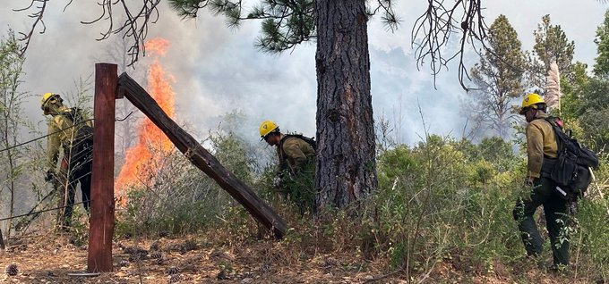 Containment of Dolan Fire in Big Sur grows to 46%, increased fire activity still a concern this weekend