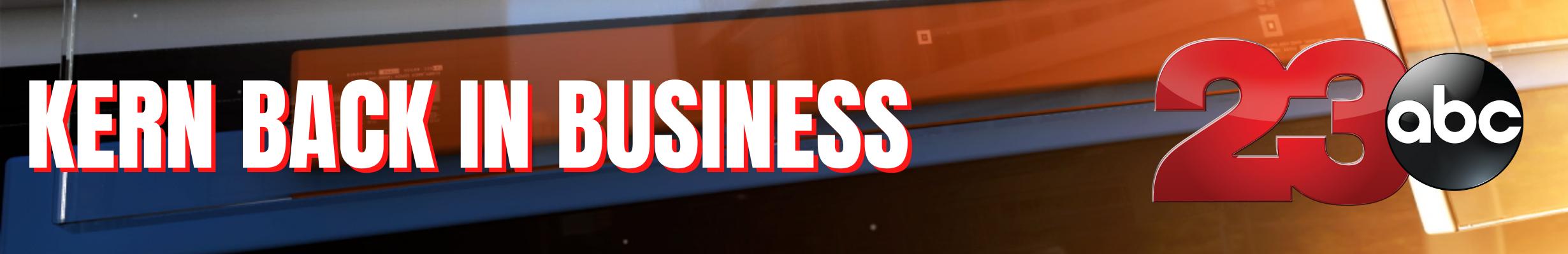 Kern Back in Business