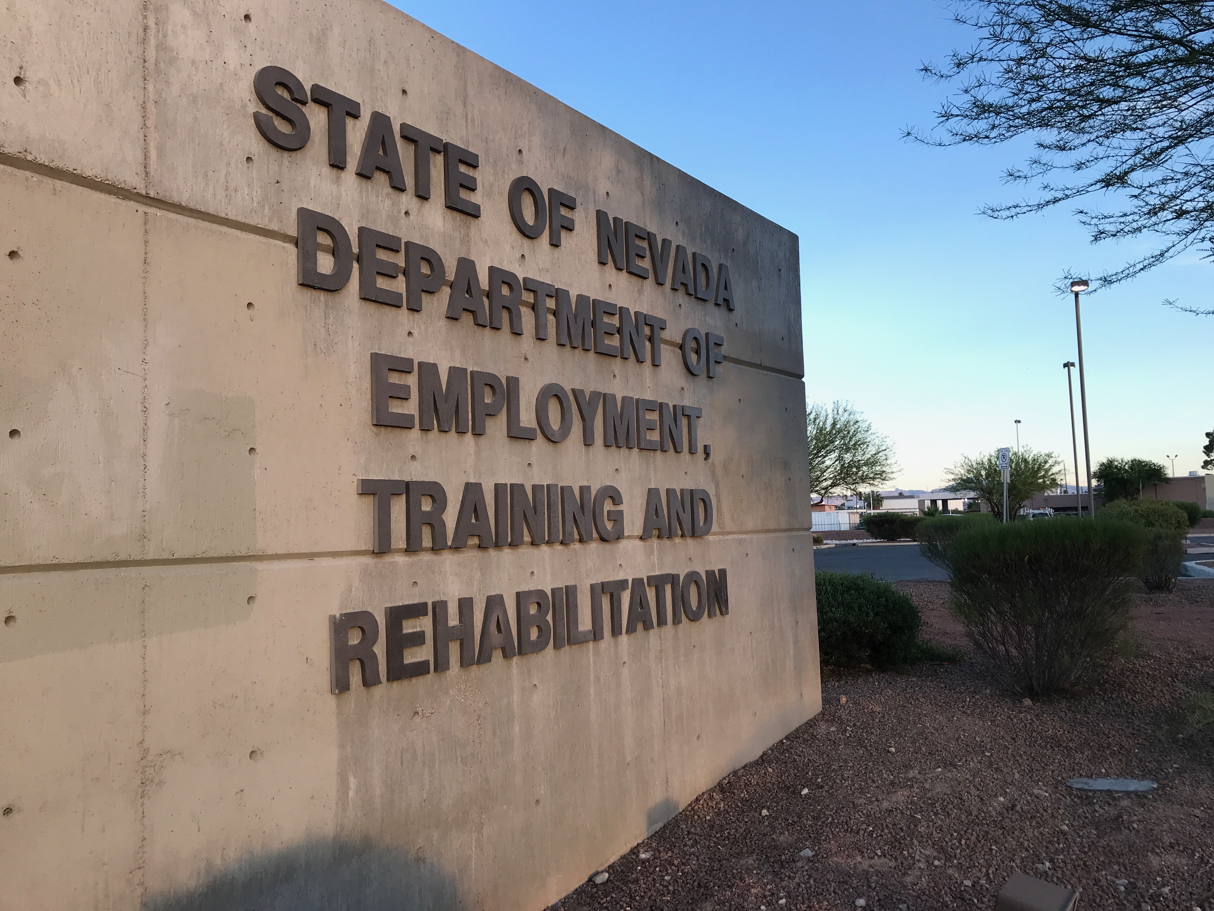 Nevada Dept. of Employment says all phone lines working