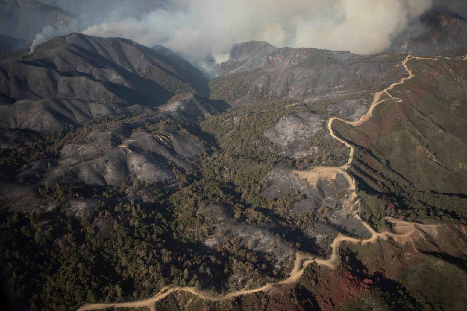 Firefighters gain ground on Dolan Fire, now 57% contained
