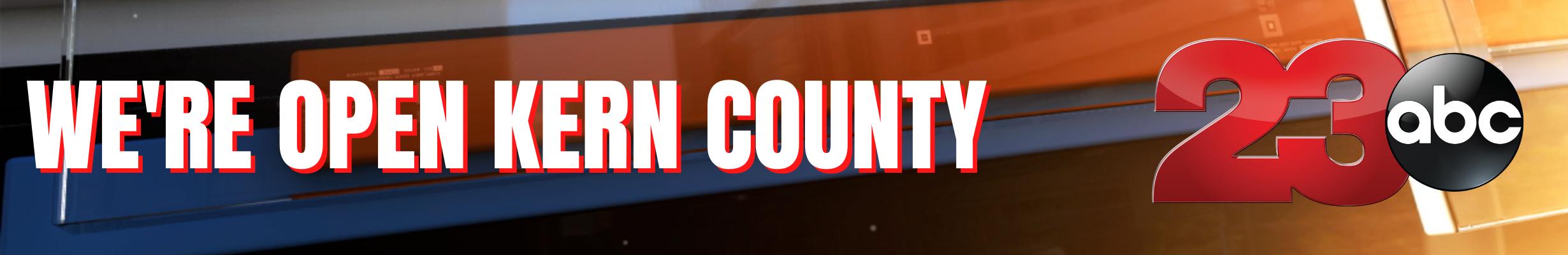 We're Open Kern County
